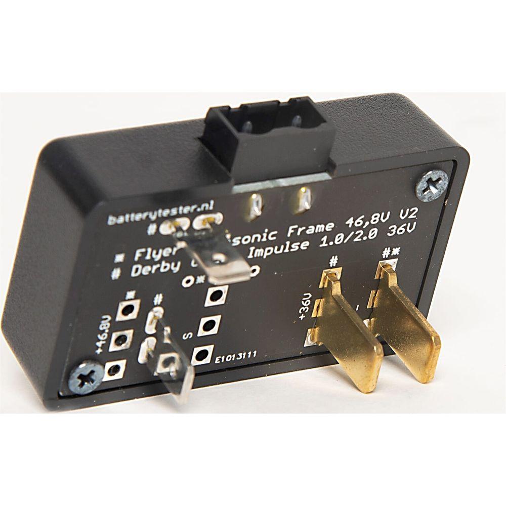 Batterytester adapter Flyer Panasonic Vollblut