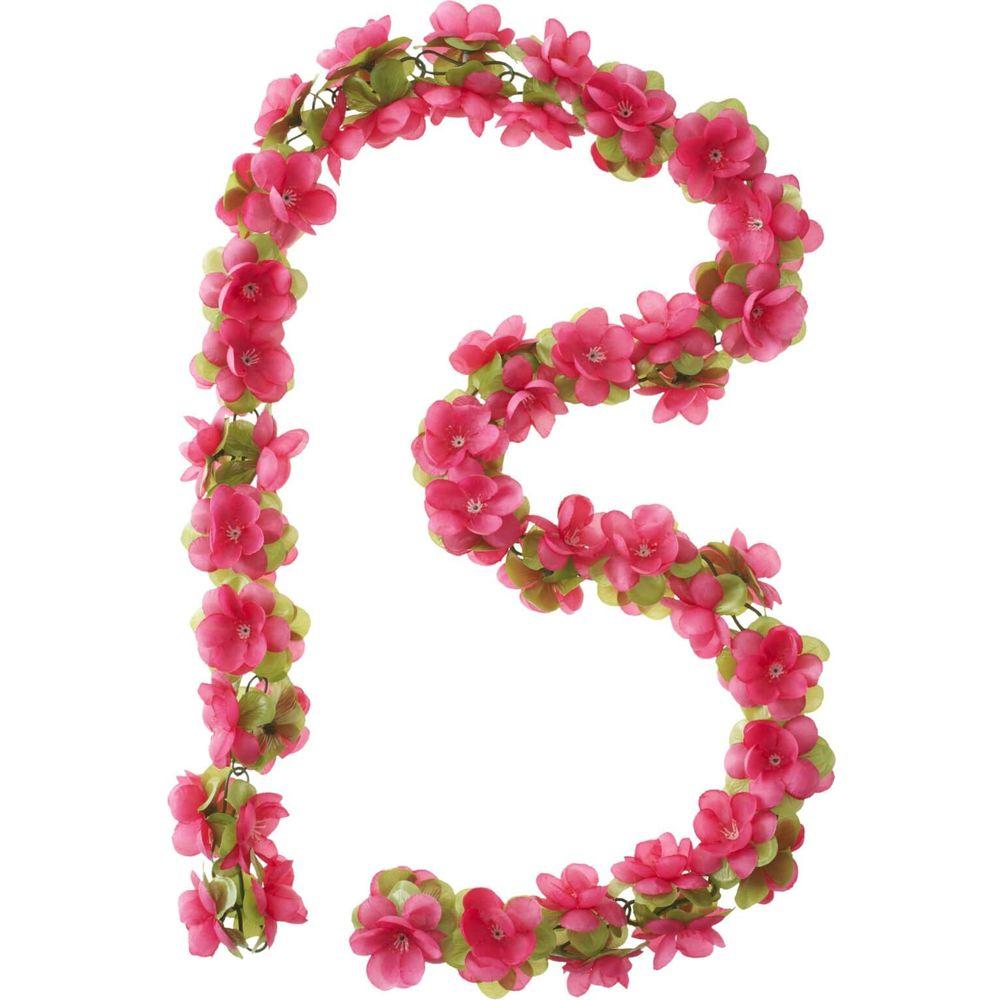 SLINGER BAS FLOWER GARLAND BLOEMENSTRENG ROSE