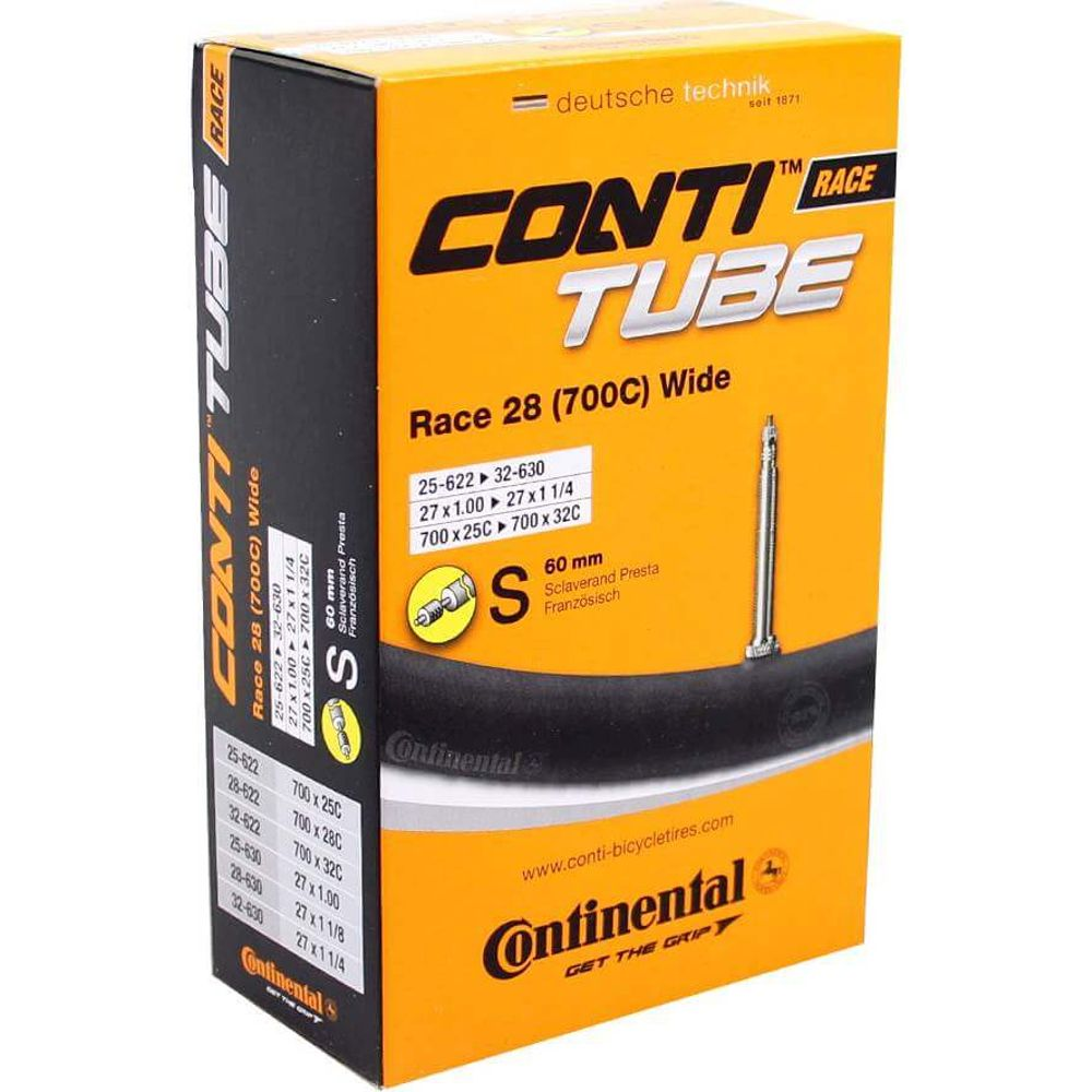 Continental binnenband Race 28 (700C) Wide 28 x 1 - 1 1/4 fv 60mm