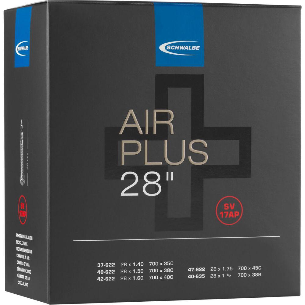 Schwalbe binnenband SV17AP Air plus 28 x 1.40 - 1.75 fv 40mm