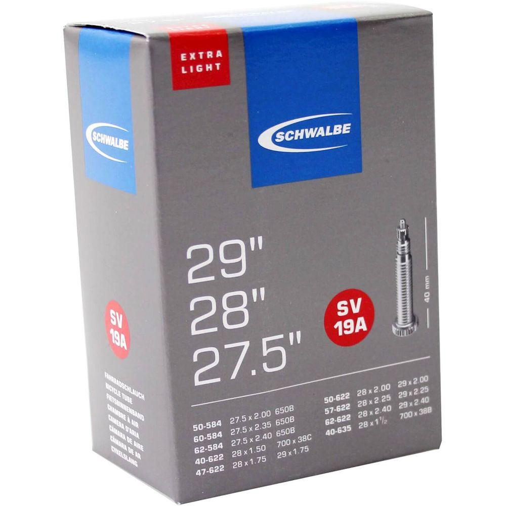 Schwalbe binnenband SV19A X Light 27.5 x 2.00 - 29 x 2.40 fv 40mm