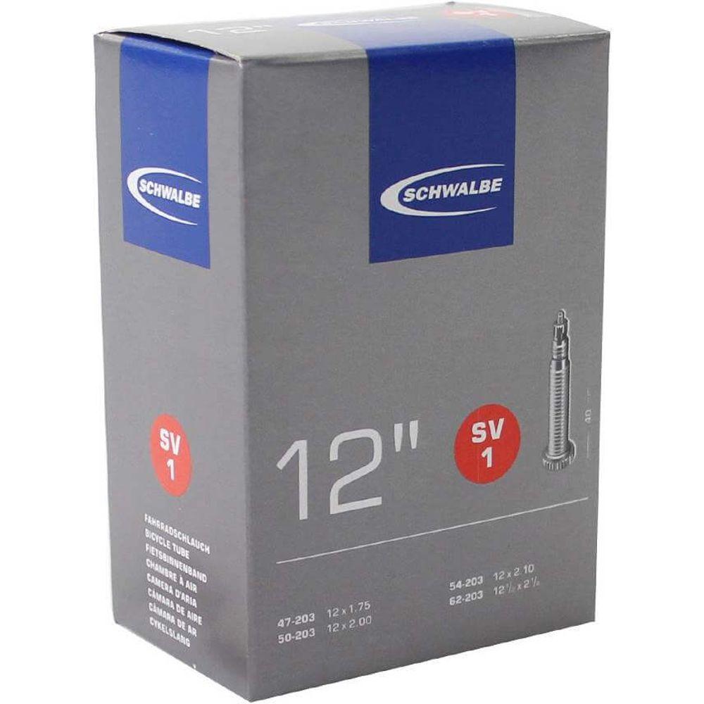 Schwalbe binnenband SV1 12 x 1.75 - 12 1/2 x 2 1/4 fv 40mm