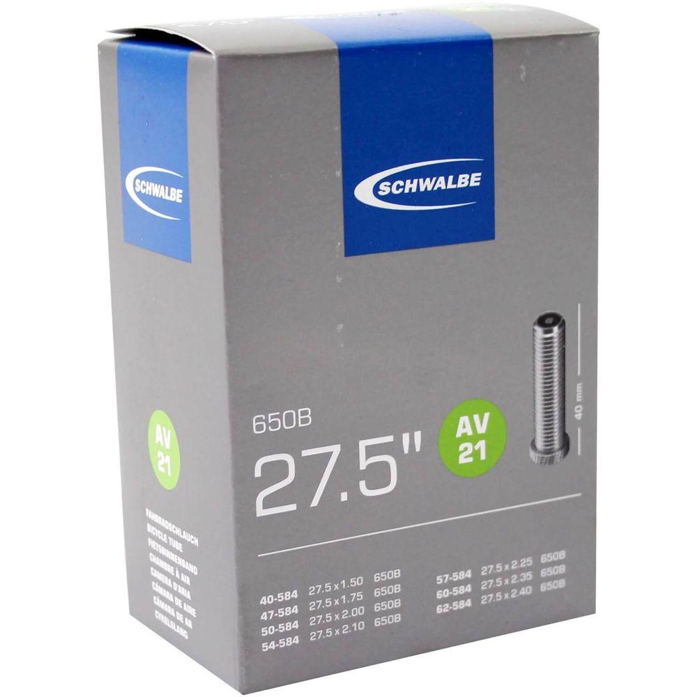 Schwalbe binnenband AV21 27.5 x 1.50 - 2.40 av 40mm