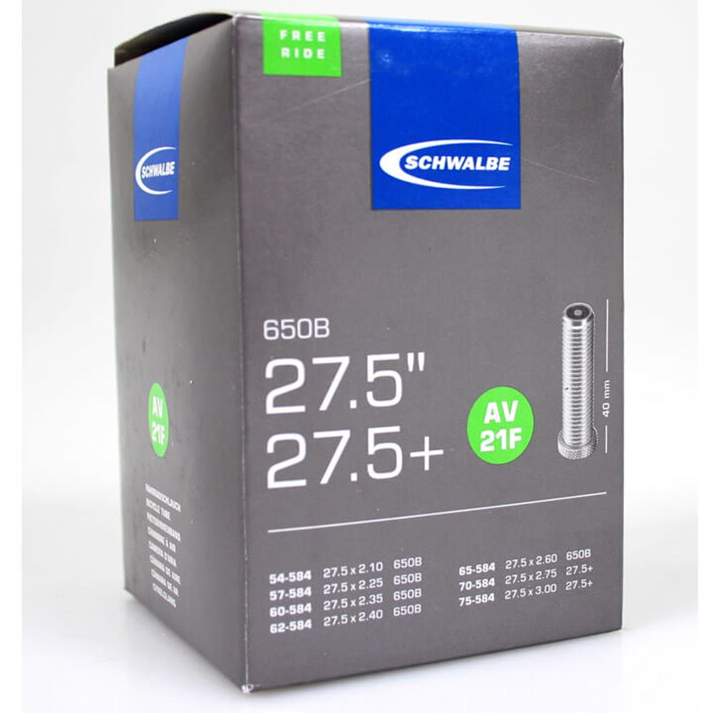 Schwalbe binnenband AV21 Freeride 27.5 x 2.10 - 3.00 av 40mm