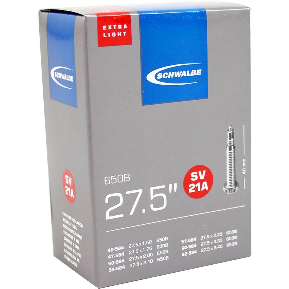Schwalbe binnenband SV21A Extra Light 27.5 x 1.50 - 2.40 fv 40mm