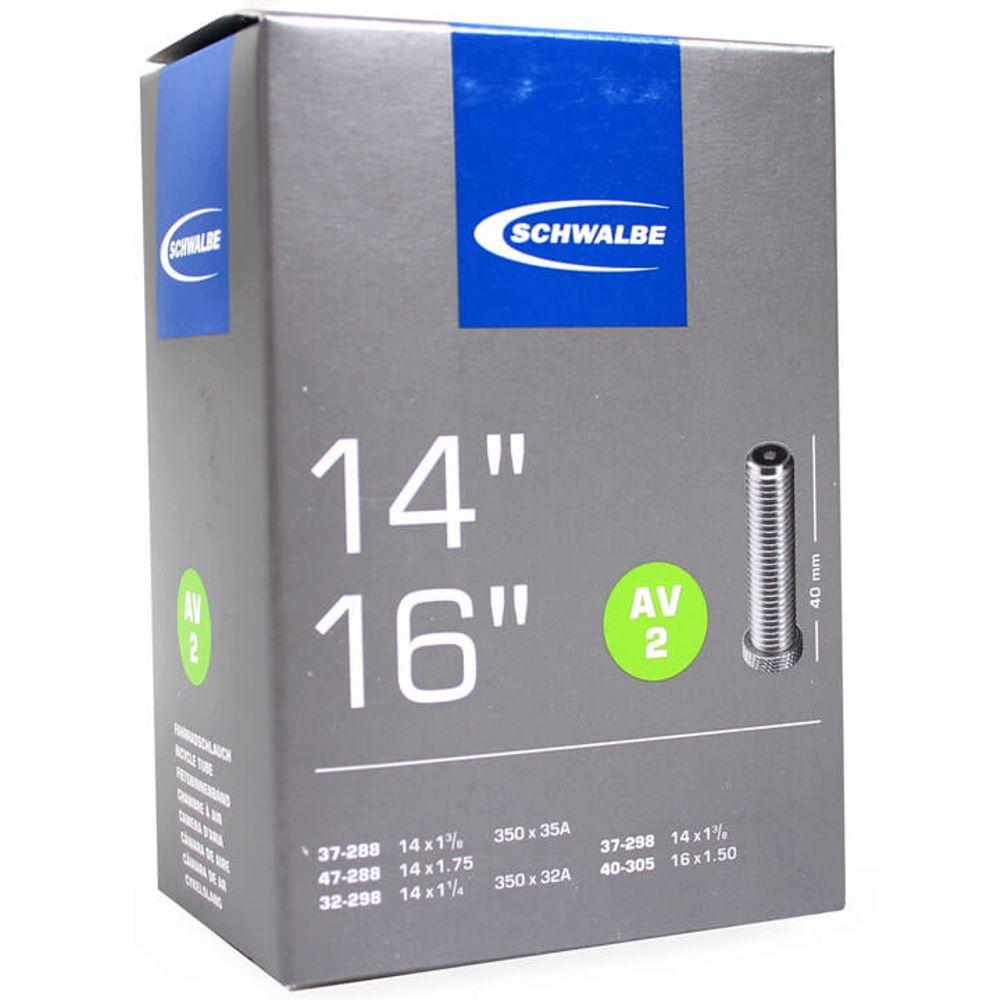 Schwalbe binnenband AV2 14 x 1 1/4 - 16 x 1.50 av 40mm