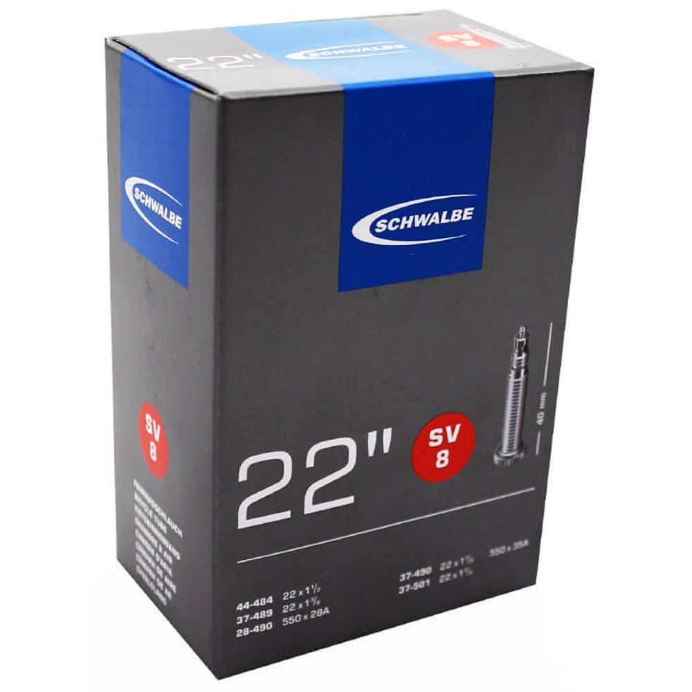 Schwalbe binnenband SV8 22 x 1 3/8 - 1 1/2 fv 40mm