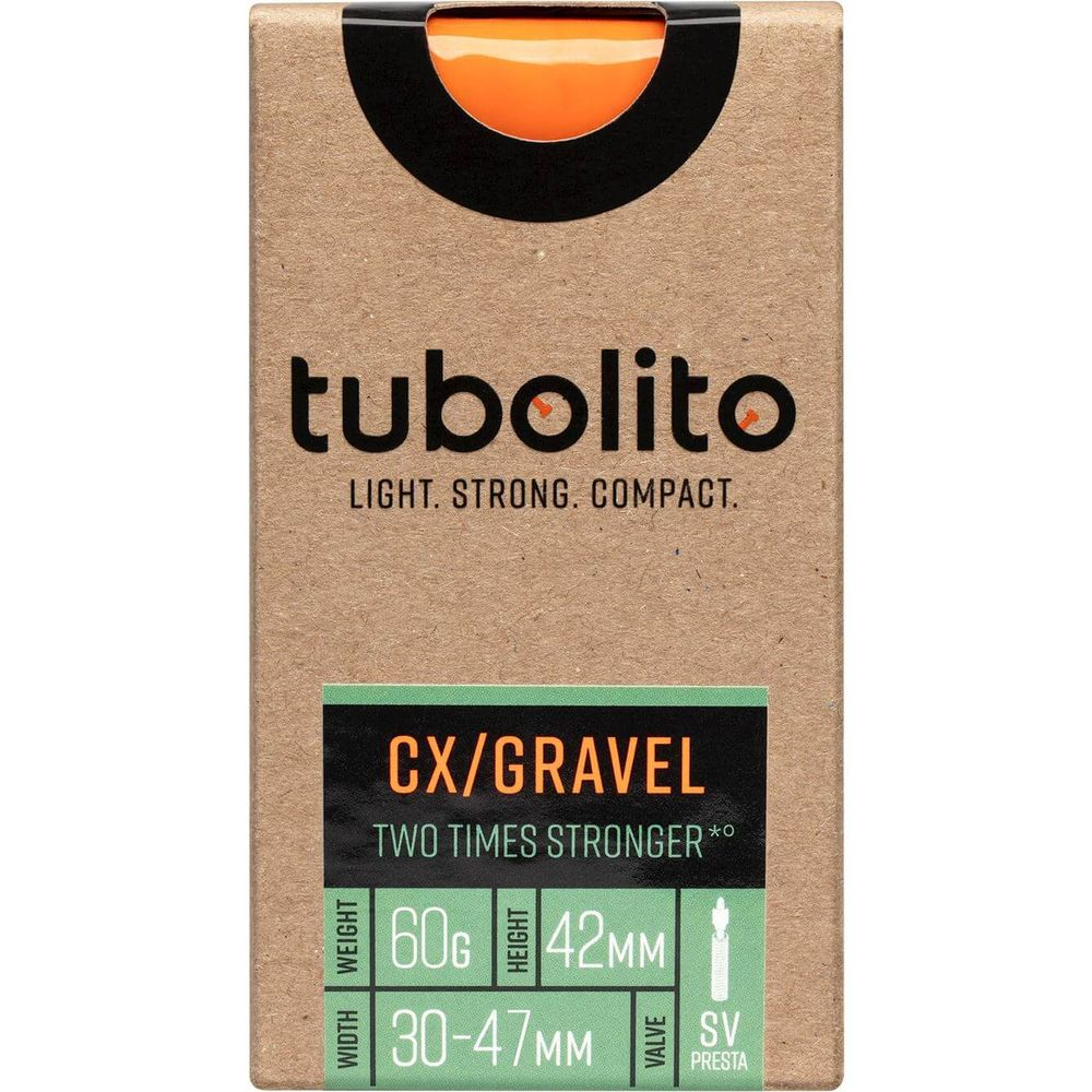 Tubolito binnenband Tubo CX/Gravel All 700c 30 - 47mm fv 42mm