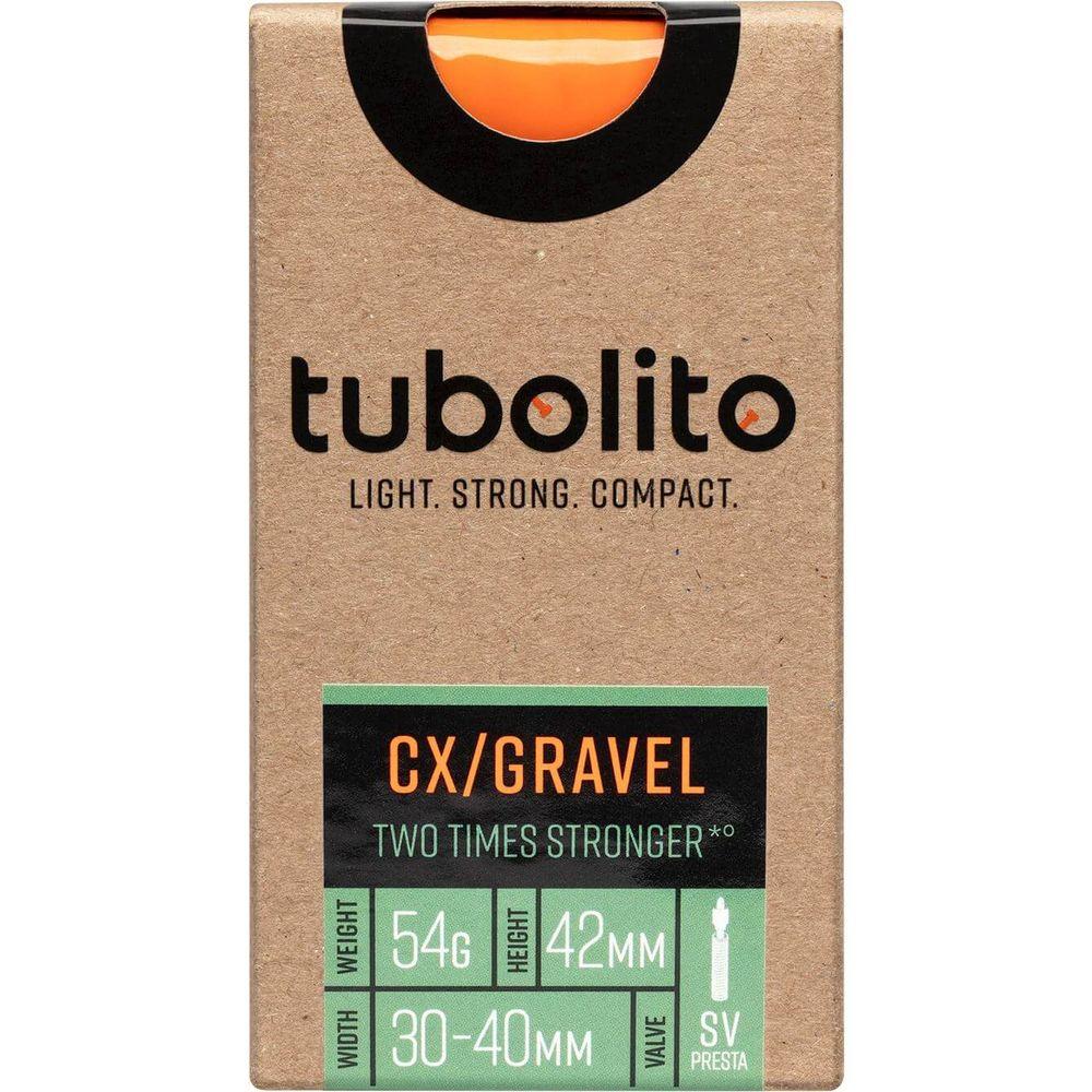 Tubolito binnenband CX / Gravel 700c 30 - 40mm fv 42mm