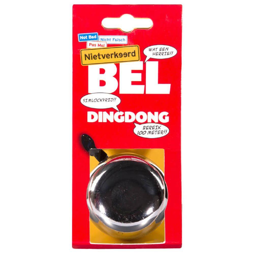 NV bel Ding Dong 60mm chroom