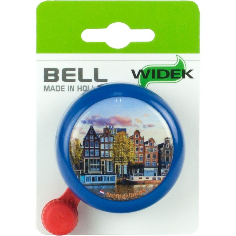 Widek bel nederland blauw grachtenpand