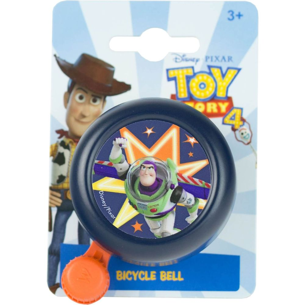 Widek kinderbel Toy Story 4 blauw op kaart
