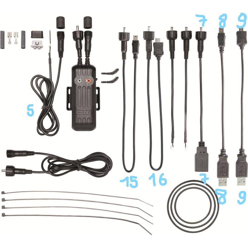 Busch & Muller kabel E-werk nr 7 rond naar USB-A