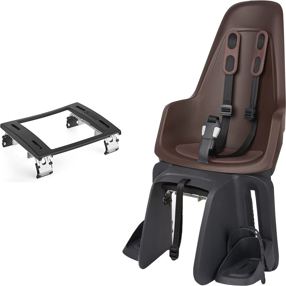 Bobike one maxi ef kinderzitje achter coffee brown