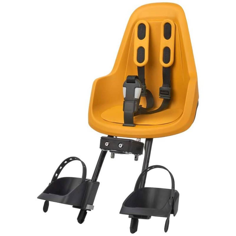 Kinderzitje voor Bobike Mini One -  mighty mustard