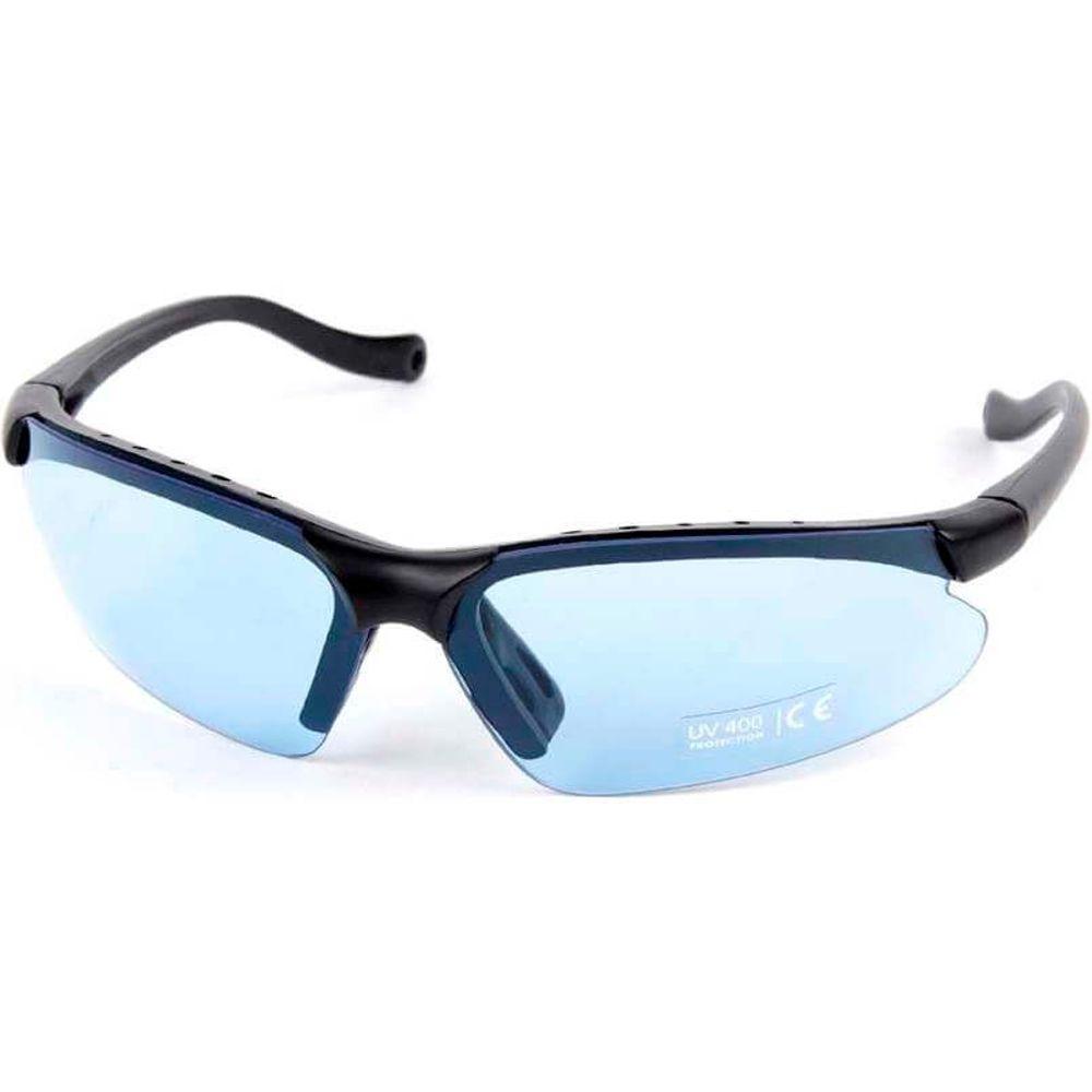 Mirage bril+ tas blauw sm en blank glas