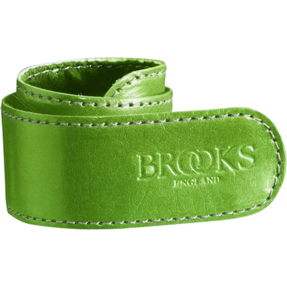 Brooks broekklem leer l groen