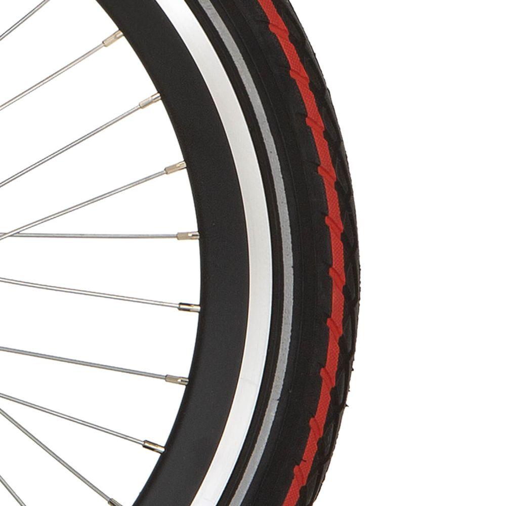 Deli Tire buitenband SA-206 22 x 1.75 zwart rode streep refl