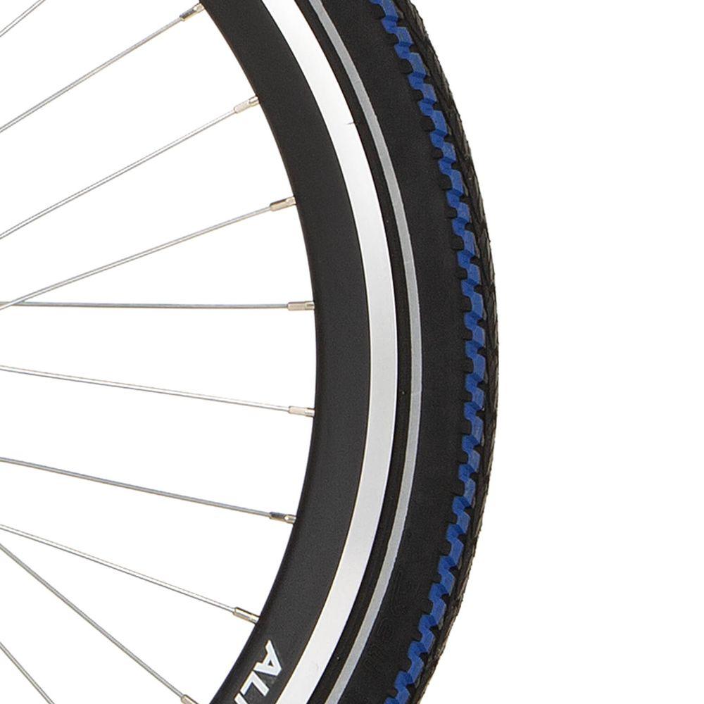 Deli Tire buitenband SA-282 24 x 1.95 zwart blauwe streep refl