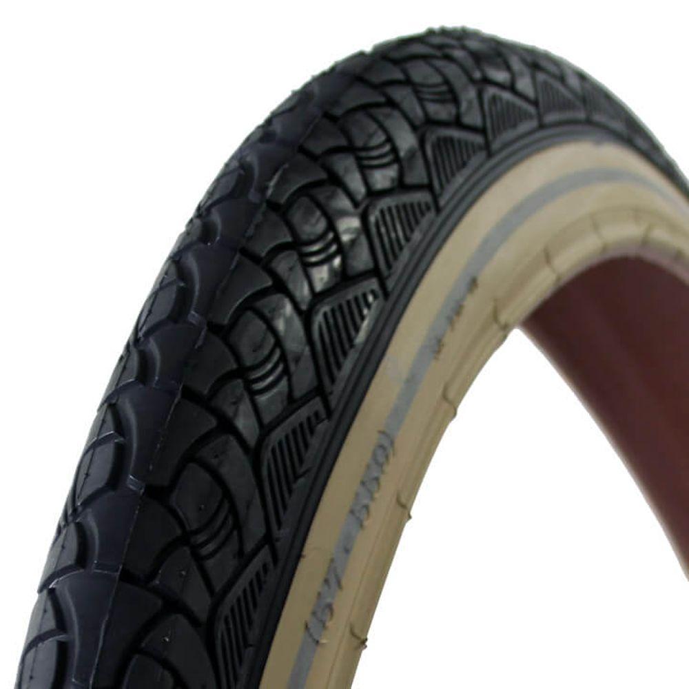 Deli Tire buitenband SA-238 26 x 2.125 zw/creme refl