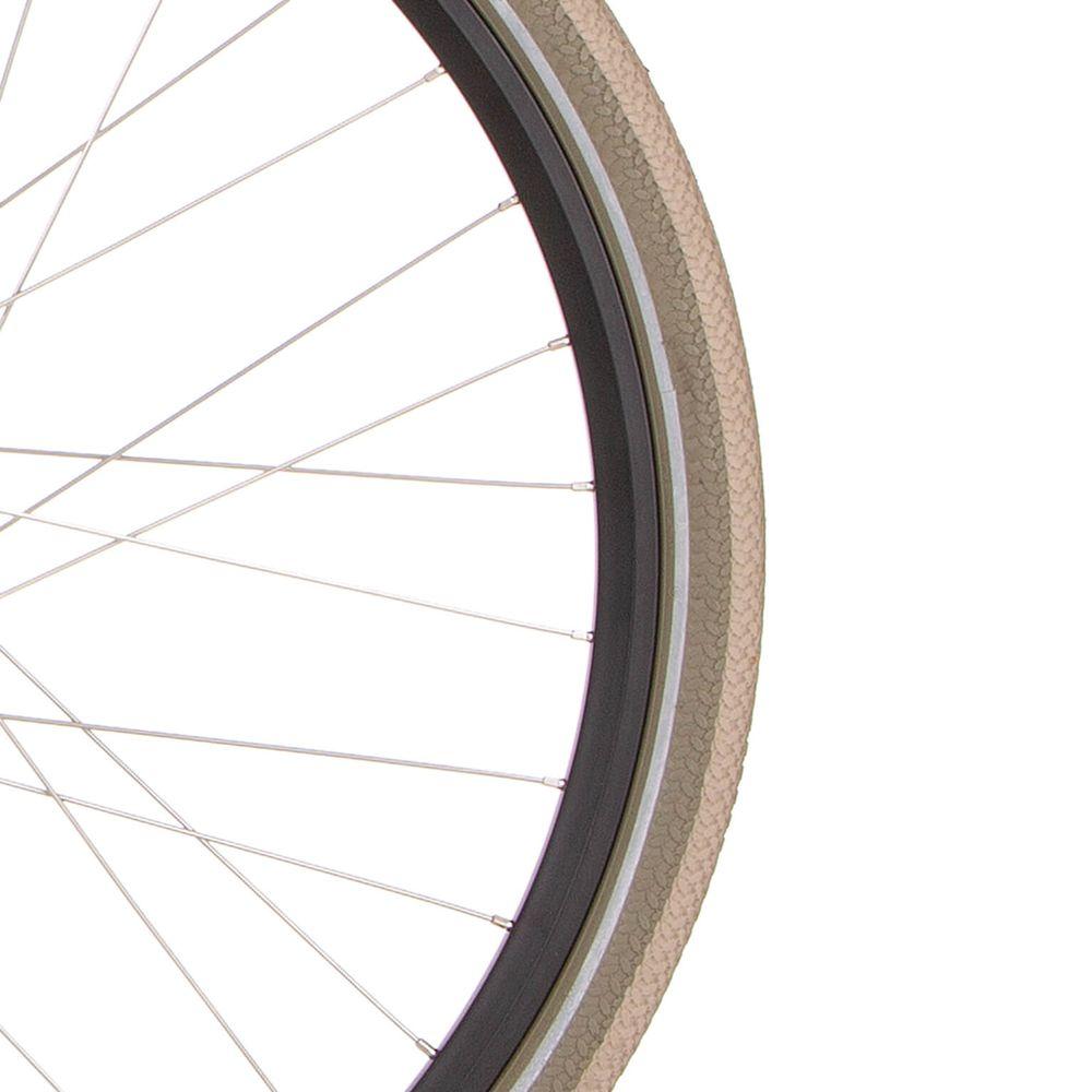 Cortina buitenband Canberra 28 x 1.75 khaki/titanium refl