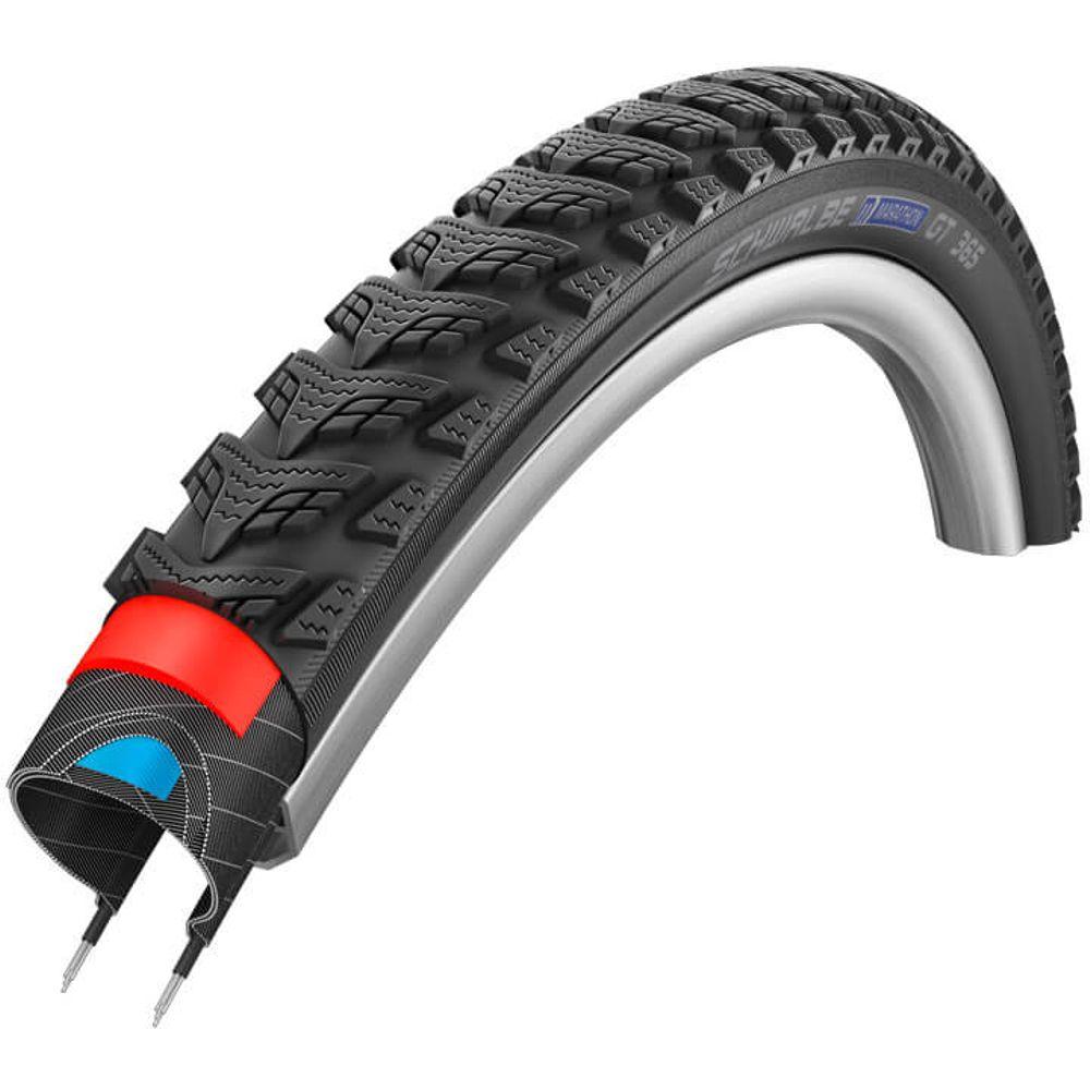 Schwalbe buitenband Marathon GT 365 28 x 1.50 zwart refl