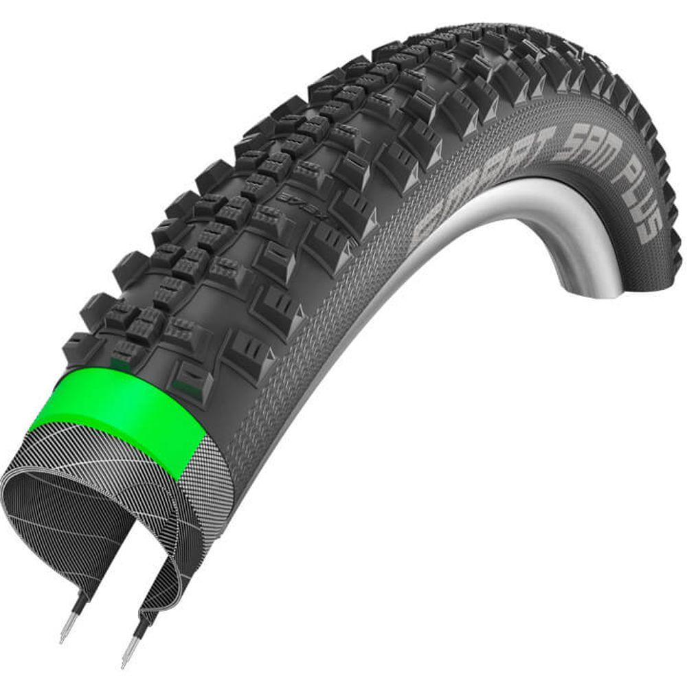 Schwalbe buitenband Smart Sam Plus 29 x 2.25 zwart
