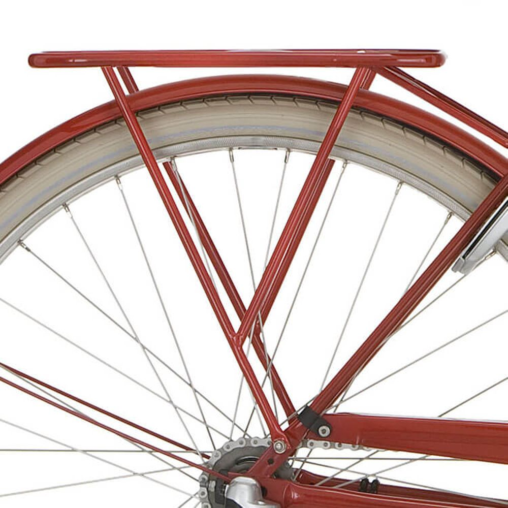 Cortina achterdrager 28 Tweed 56 rood