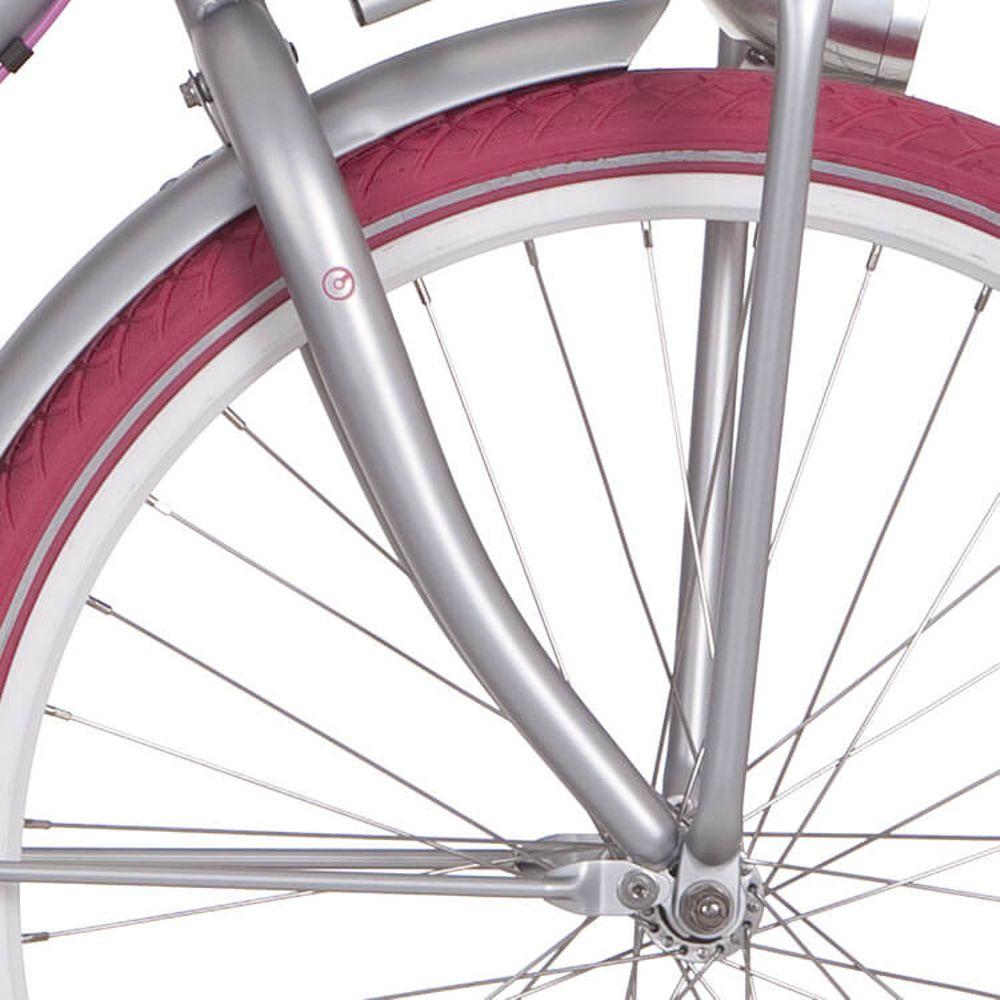 Cortina voorvork 26 U4 D bright alumina matt