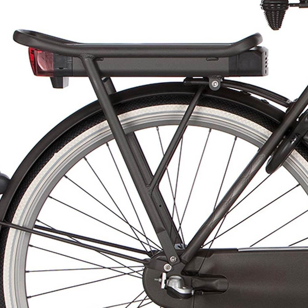 Cortina achterdrager E-U4 black graphite matt 230mm