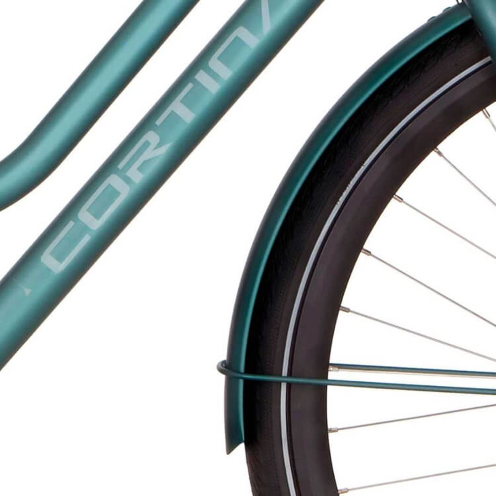Cortina voorspatbord 28 Speed matt beryl green