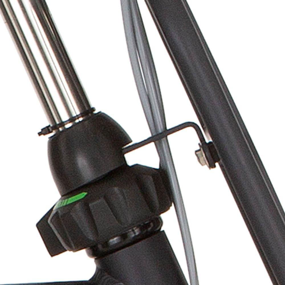 Cortina balhoofd beugel voordrager 28 H65 dark grey matt