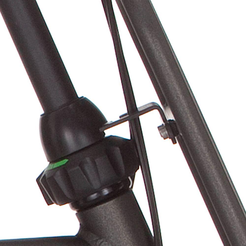 Cortina balhoofd beugel voordrager 28 H65 black gold mat