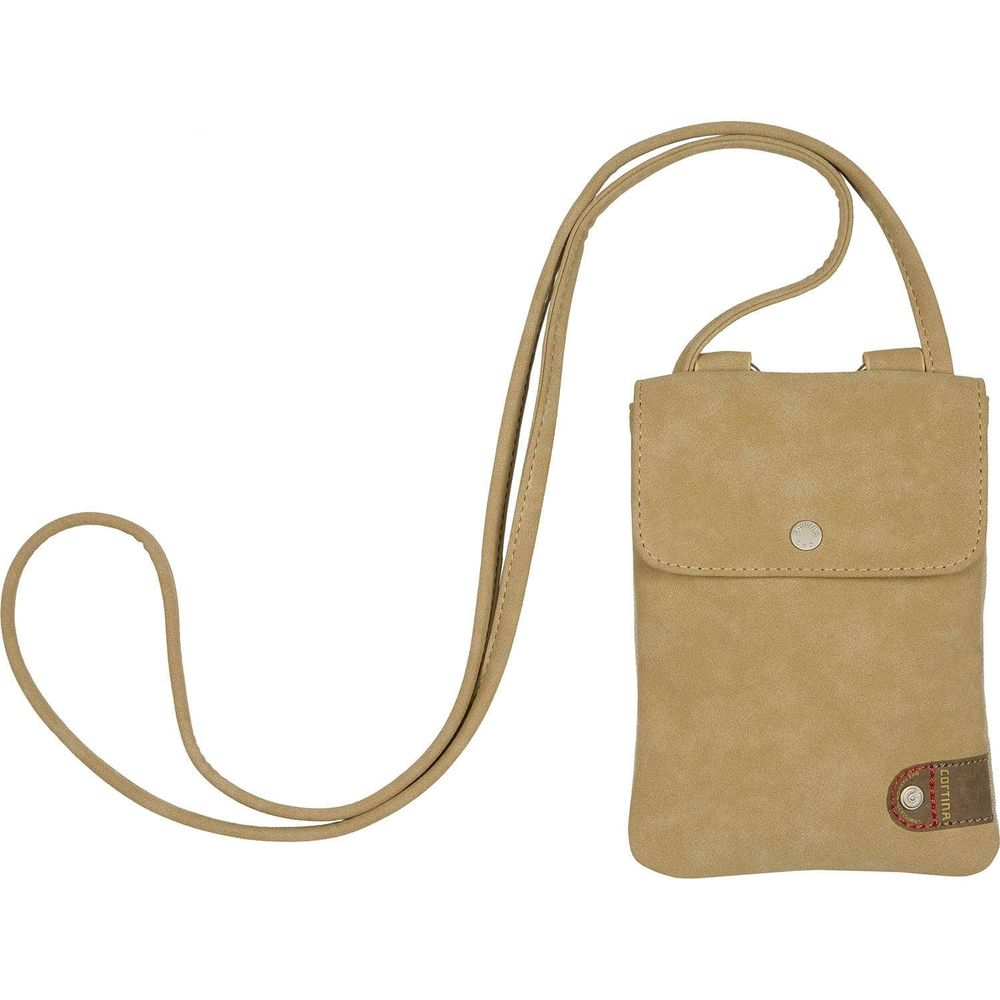 Cortina Tunis Phone Bag canv/leather Sand
