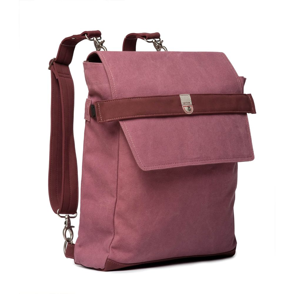Cortina Munich Messenger Bag canvas Cyclaam