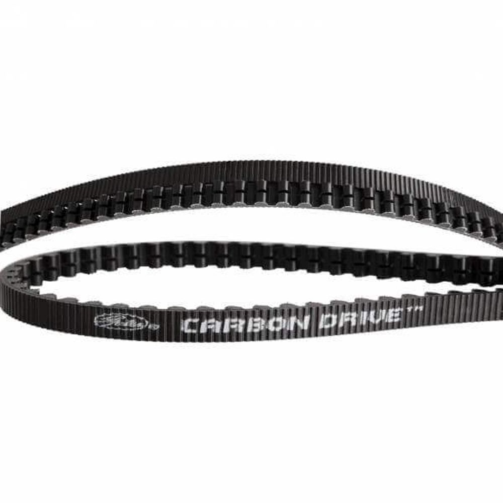 Gates CDX belt Carbon Drive 118 tands zwart