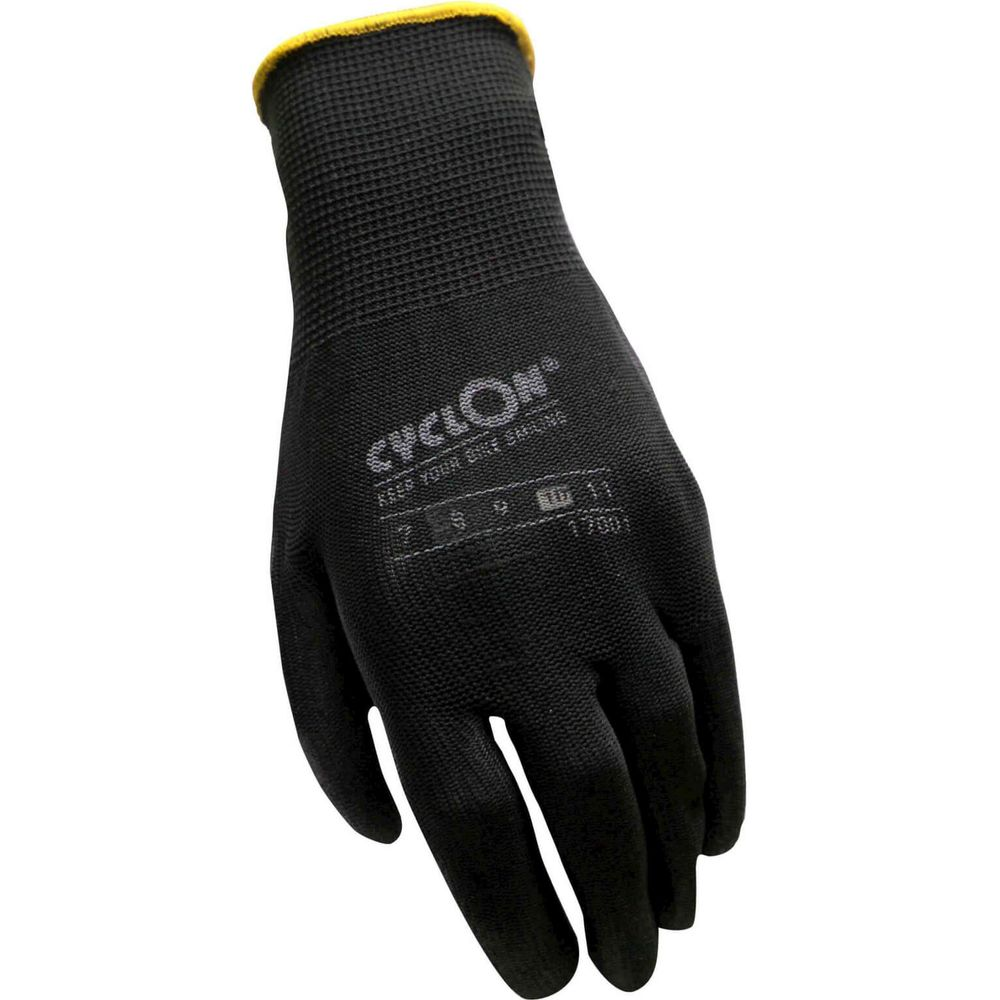 Working Gloves Cyclon flex nyl/pu M.10 - yellow