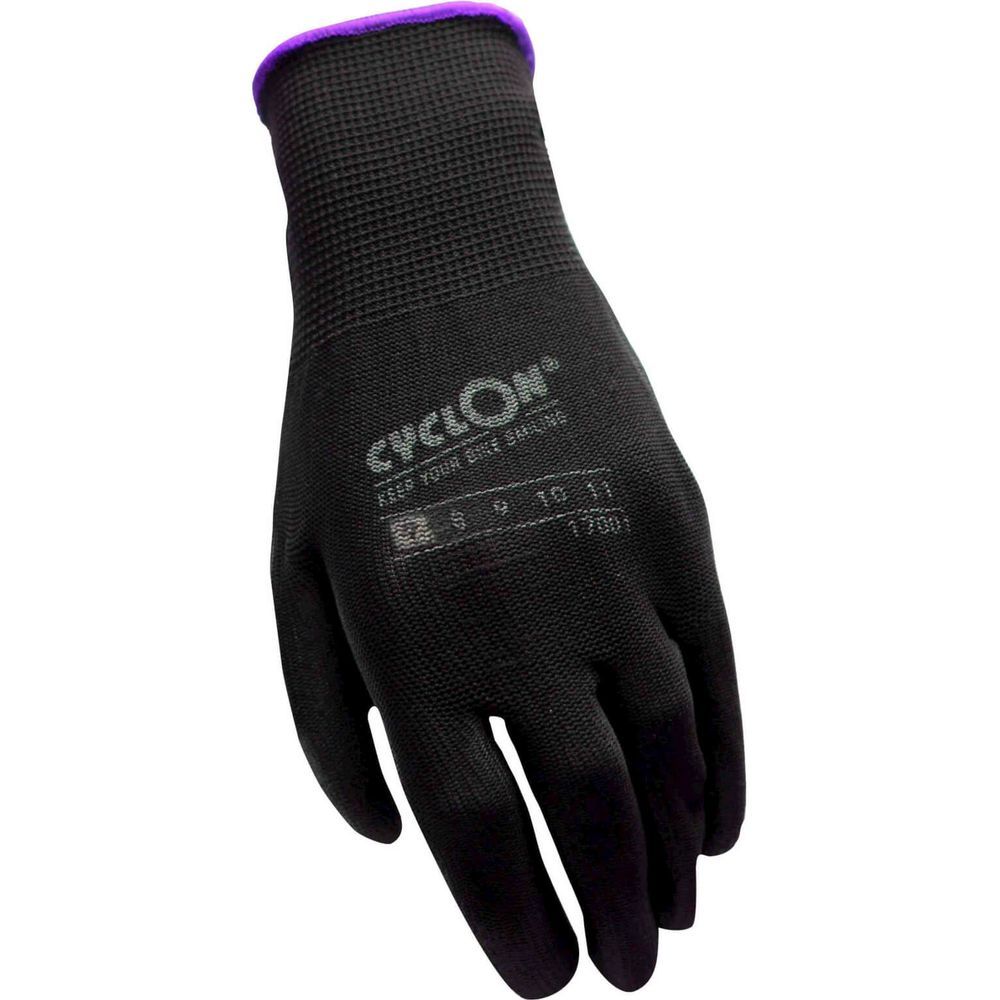 Working Gloves Cyclon flex nyl/pu M.7 - purple