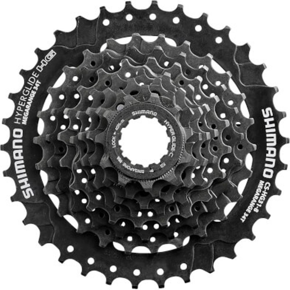 Shimano cassette 8 speed 11-30 tands hg30