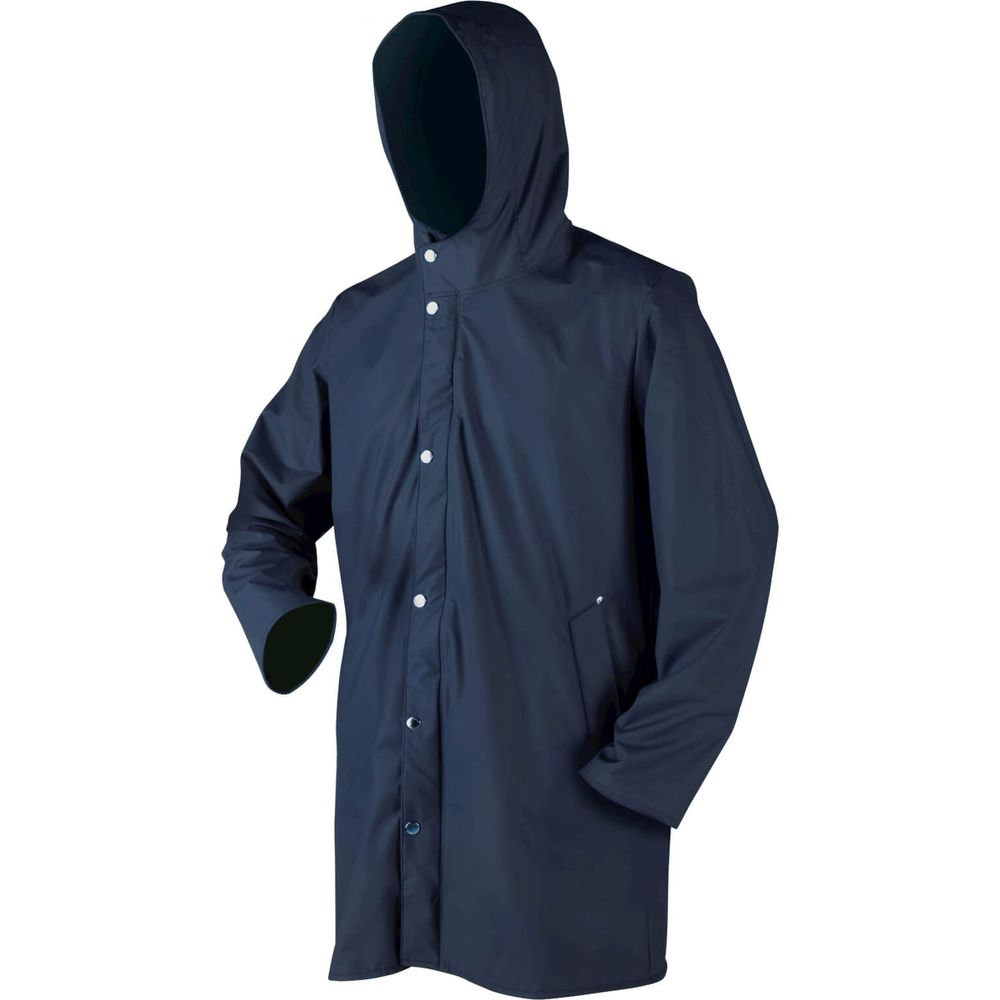 Dolfing regenjas Clarkson uni blauw XL