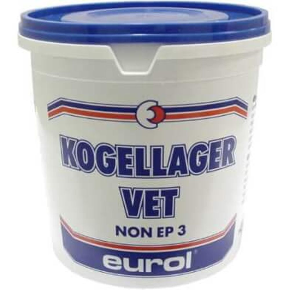 OLIE EUROL KOGELLAGERVET POT 600GRAM