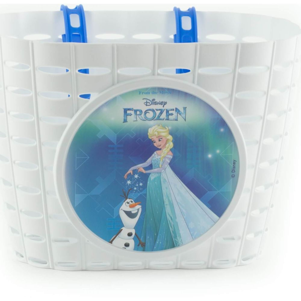 Fietsmandje Widek Disney Frozen - wit