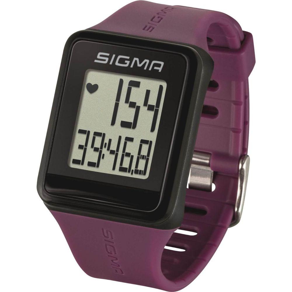 Sigma hartslagmeter id.go plum analoge borstband