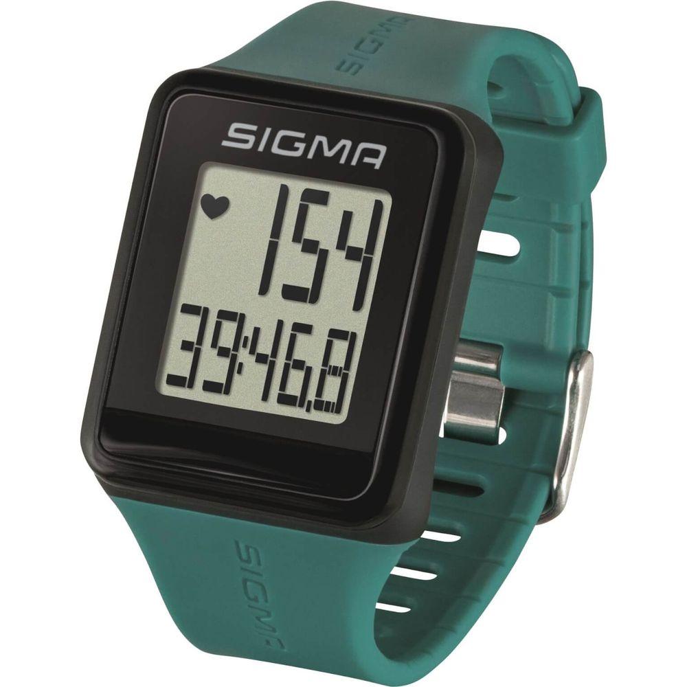 Sigma hartslagmeter id.go pine groen analoge borst