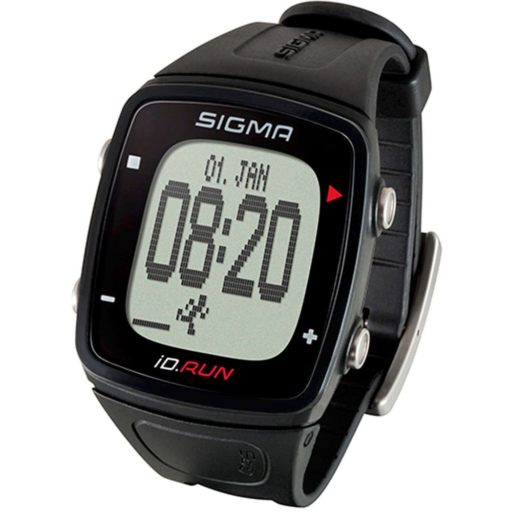 Sigma sporthorloge id.run zwart gps activity track