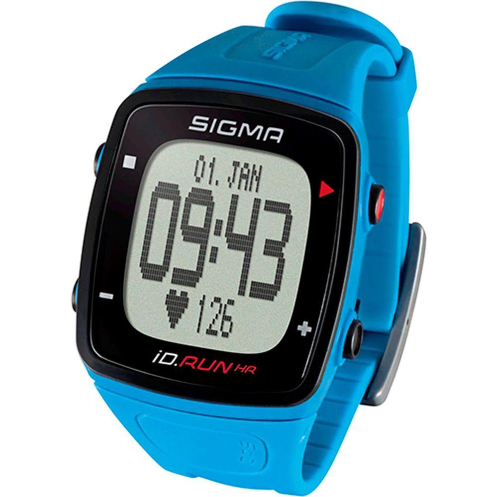 Sigma hartslagmeter id.run hr pacific blauw polsme