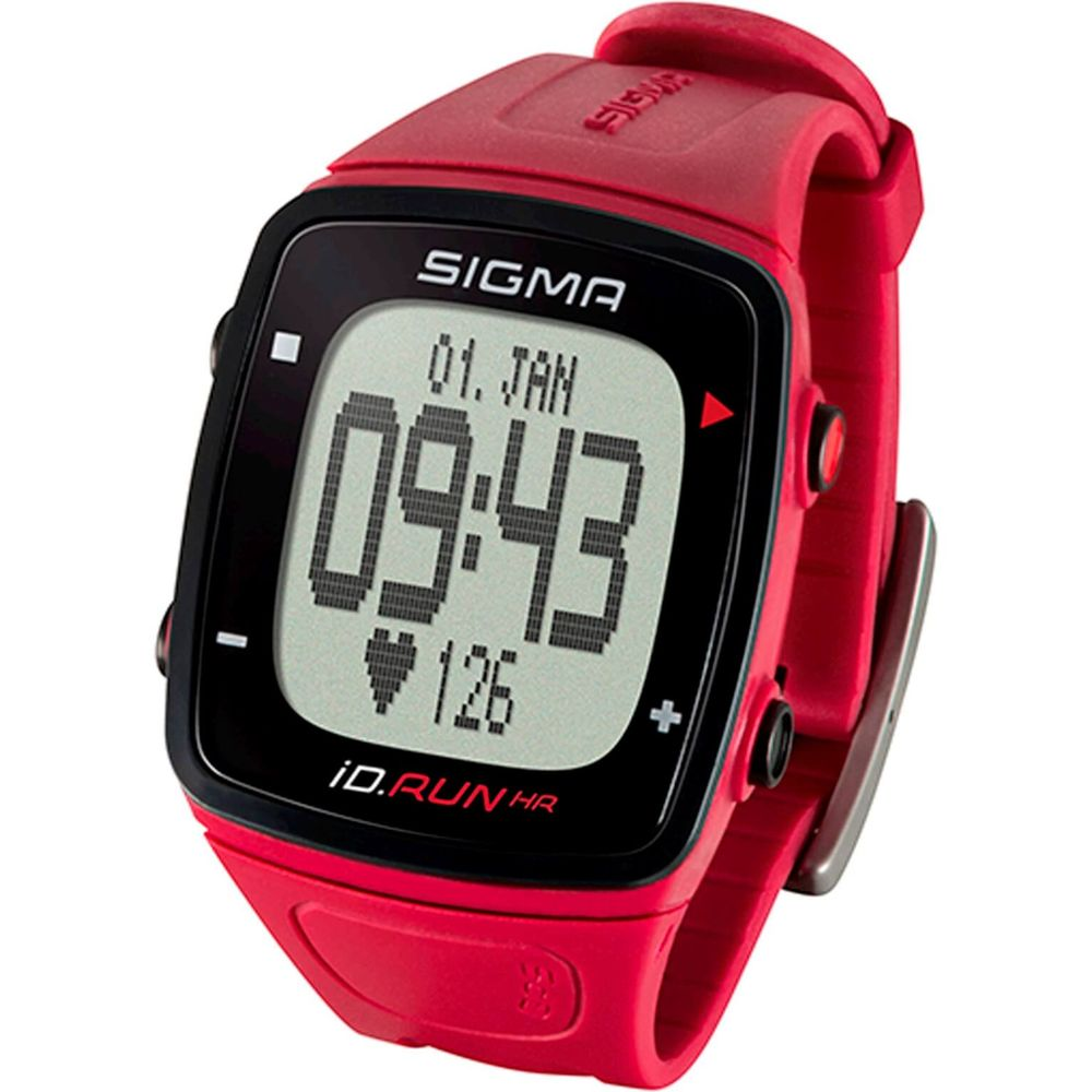 Sigma hartslagmeter id.run hr rouge polsmeting gps