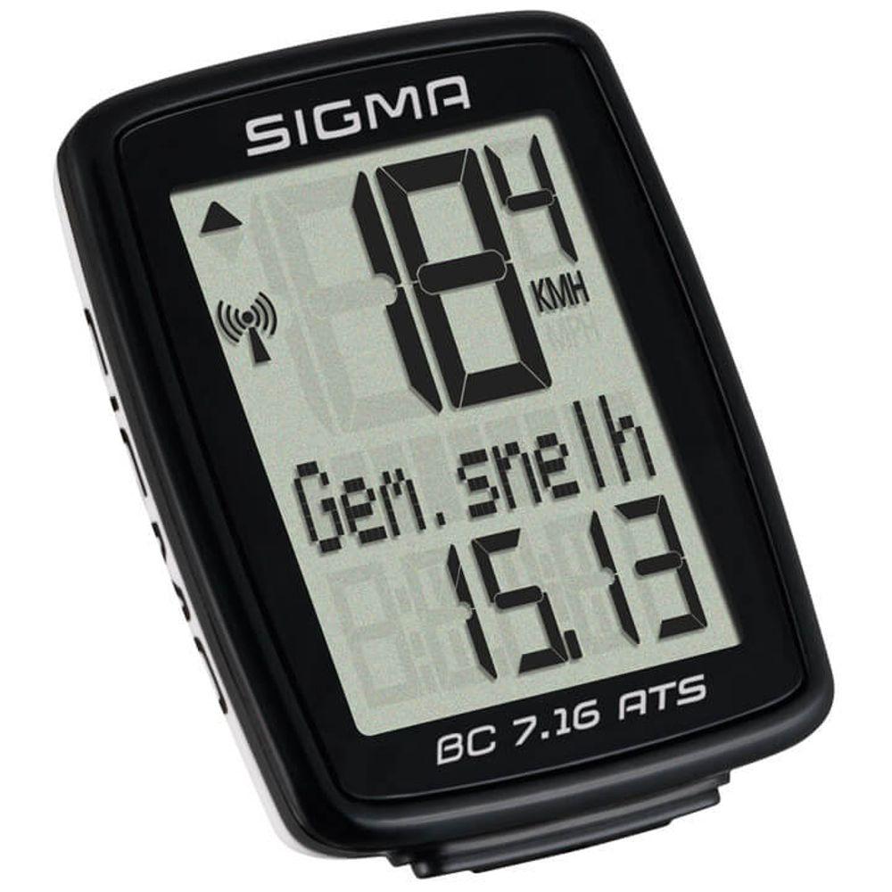 Fietscomputer Sigma BC 7.16 ATS - draadloos