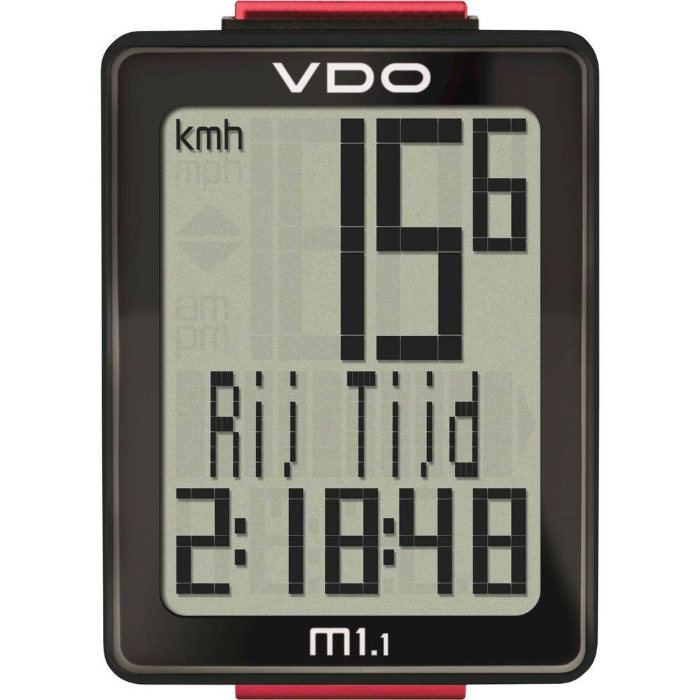 VDO fietscomputer M1.1 draadl