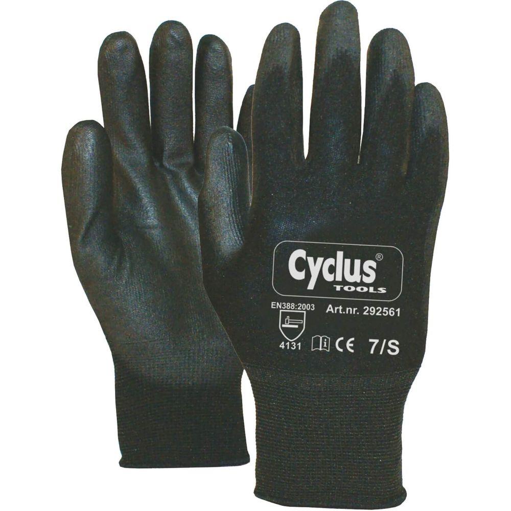 Cyclus handschoenen werkplaats maat s / 7 rode ran